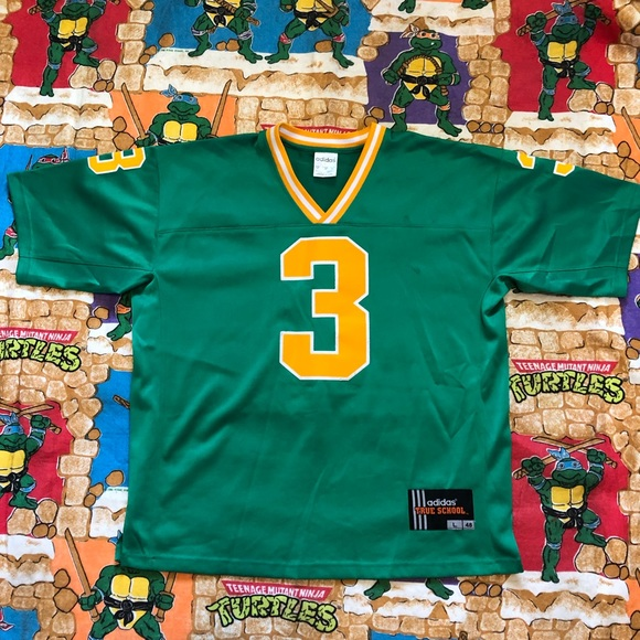 on sale e8f44 ea04c Joe Montana Adidas True School Notre Dame Jersey L